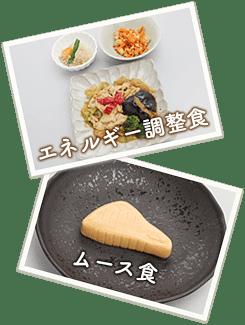 エネルギー調整食、ムース食の写真