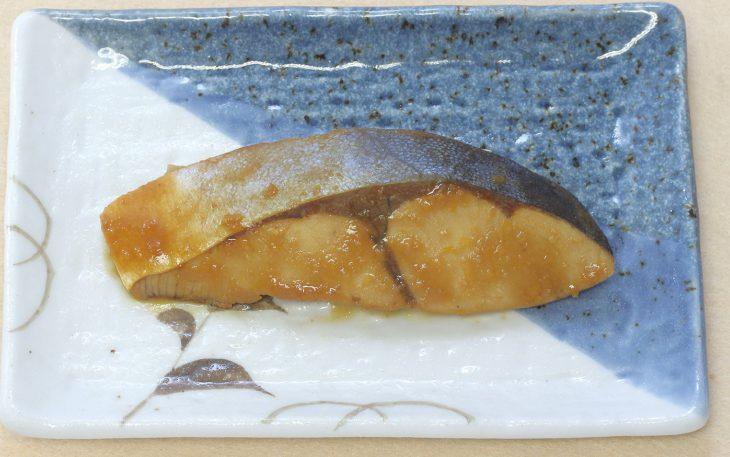 ハマチの柚子味噌煮