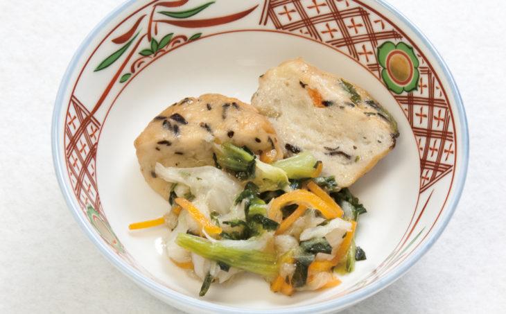 ふんわりさつま揚げと野菜の煮物