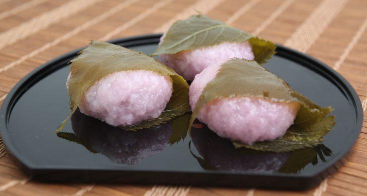 小さな桜餅