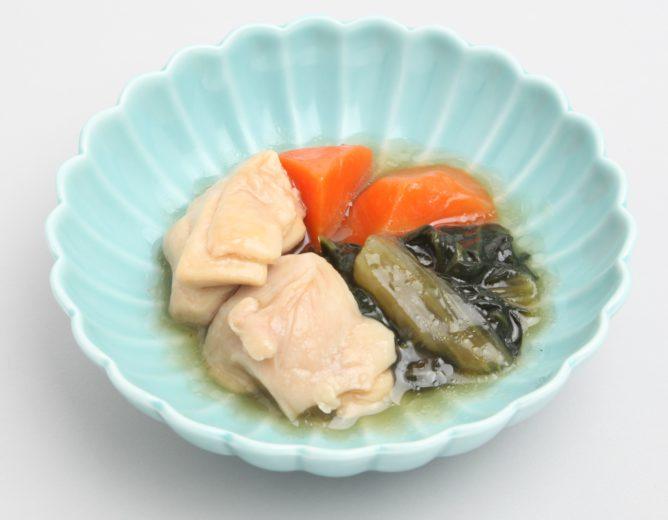 鶏肉と青菜のとろみ煮