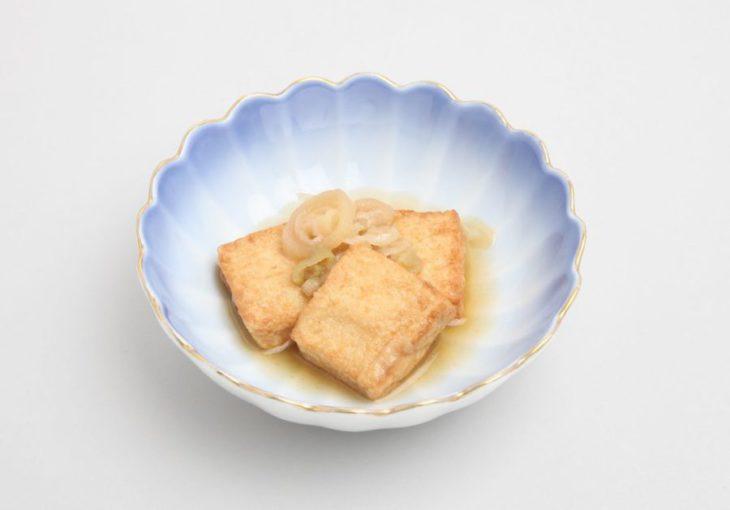 厚揚げとねぎの生姜煮