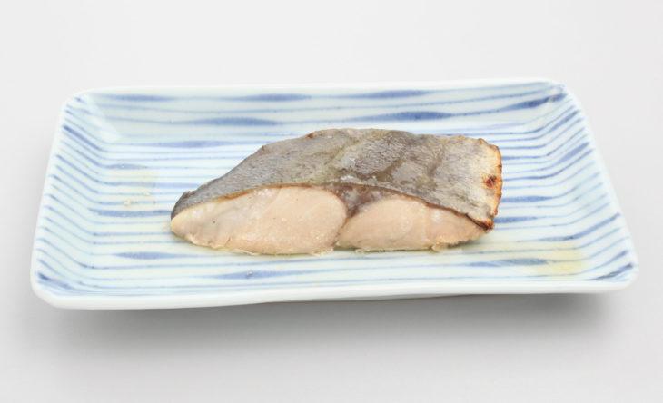 白身魚のガーリック醤油