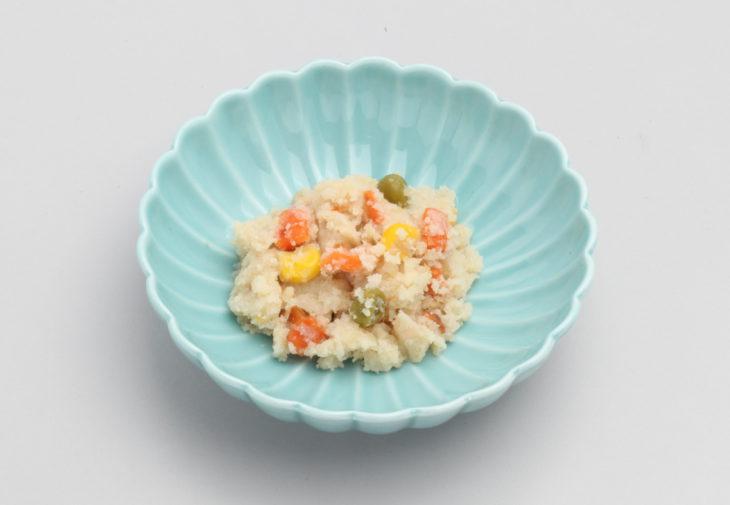 サラダ風ポテトうの花