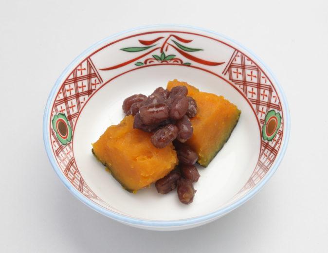 かぼちゃと小豆のいとこ煮