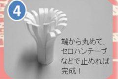 「チューリップチキン」飾り紙