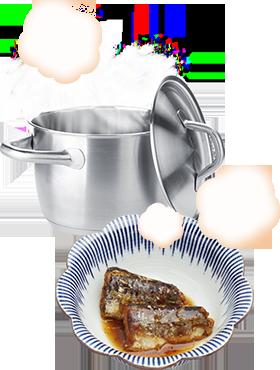 簡単調理のイメージ