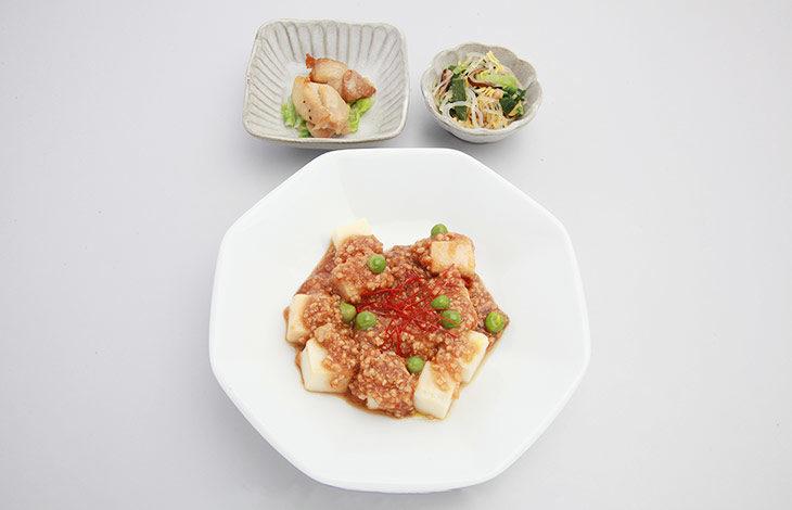 麻婆豆腐献立